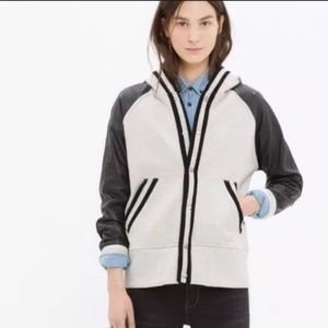 MADEWELL Leather Tournament Jacket
